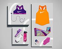 Nike Product Laydowns