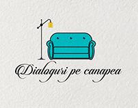 Logo Design - Dialoguri pe canapea