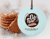 """Logo - Pastry shop """"Cake point"""""""
