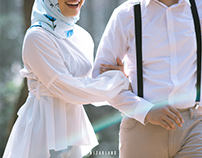 Prewedding of Dinda & Aldo