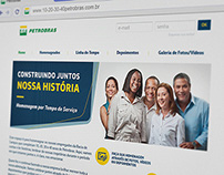 HOTSITE - HOMENAGEM POR TEMPO DE SERVIÇO