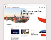 Sharedtrip to homepage concept