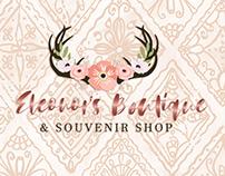 Eleonor's Boutique & Souvenir Shop Logo Design