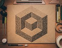 Geometric calligraphy