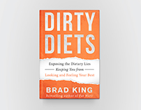"""Dirty Diets"" Book Cover Design"