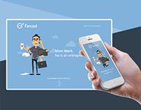 Farcast App Landing Page