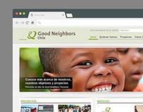 Good Neighbors Chile - Website