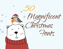 50+ Magnificent Christmas Fonts