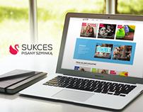 Succes Writen in Lipstick website