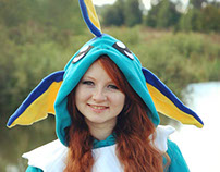 Vaporeon animal onesies