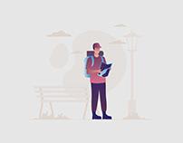 Traveler Illustration 04