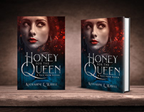 Honey for the queen. Book cover design