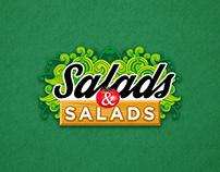 Diseño de redes sociales para Salads & Salads.