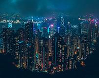 HONG KONG: Neon City
