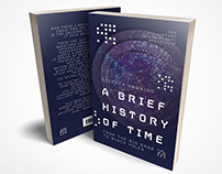 Stephen Hawking - A Brief History of Time Book redesign