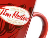 Tim Horton's Canadian Bacon Sandwich Treatment