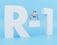 Character 3D. R-1