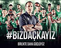 Darüşşafaka Doğuş Basketball Team - #BİZDAÇKAYIZ