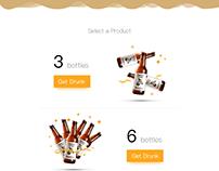 Zebra Craft Beer Website Design