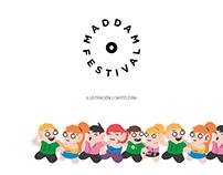Maddam Festival Diseño Cartelería