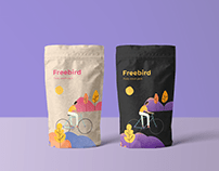 Snack Packaging and Illustration.