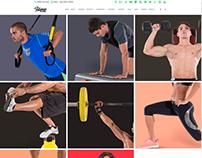 Activities 3 Columns - Fitness WordPress Theme