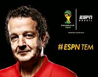 ESPN - COPA DO MUNDO - COMENTARISTAS - 2014