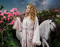 Retouch and collage fantasy style