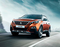 Outdoor adventure with the Peugeot SUV!