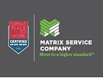 Matrix Service Company - Ads and Marketing Collateral