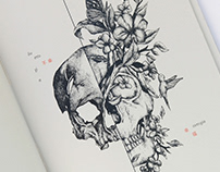 Illustration book - Dialogue with the skull