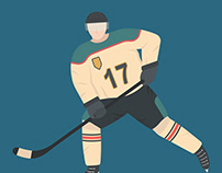 Ice Hockey Illustration