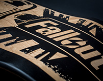 Fallout Laser Etched Skateboard Deck (proto)