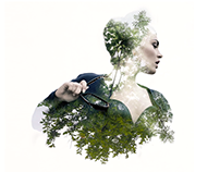 Animated Double Exposure Portraits (Cinemagraph)