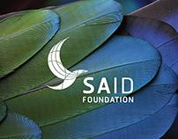 SA'ID Foundation   Logo Design