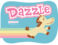 Paul Frank Dazzle the Unicorn Storybook Styleguide