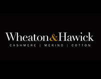 Wheaton & Hawick, logo design