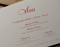 Birthcard Asa