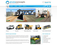 Enviroconcepts - web design