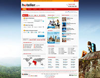 Hoteller - web design