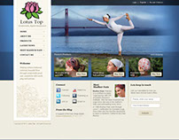 Lotus Top - web design