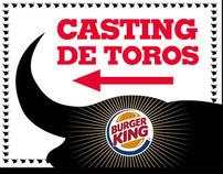 Acción especial Burger King. San Fermines.