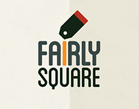 Logo for Fairly Square, ethics and urban lyfestyle