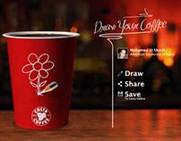 COSTA cafe online game conceptual design