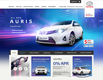 Toyota Auris for Toyota GB