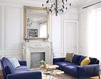 ∼ Salon de style parisienne∼