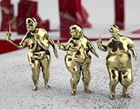 "GOLDEN HELMETS - Videoclip ""Banksy"""