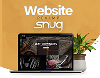 Snug | Web Design Portfolio