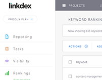 LINKDEX - Complete redesign/UX/UI