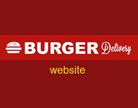 Burger Delivery Website